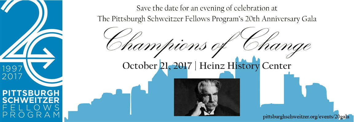 20th Anniversary Gala: Champions of Change