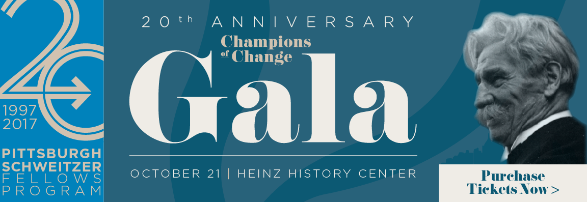 20th Anniversary Champions of Change Gala Honoring Mayor William Peduto. Join us for an inspiring evening of fun including: hors d'oeuvres, dinner, drinks, entertainment, and more!